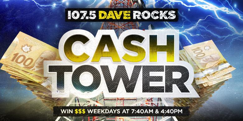 Dave Rocks Cash Tower