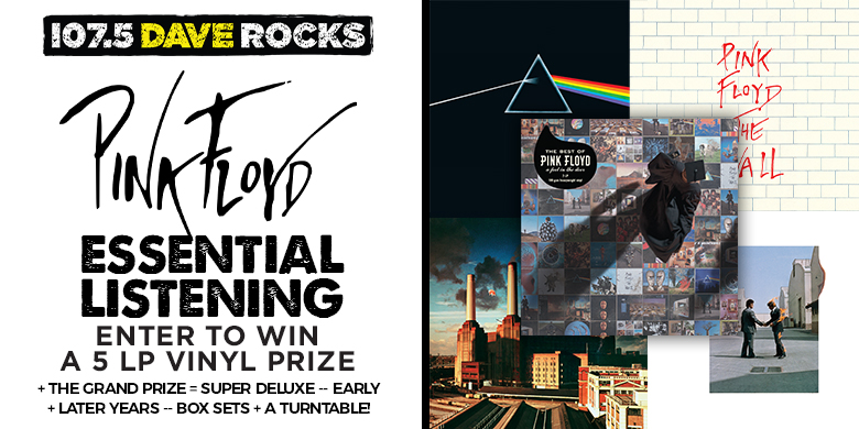 Win the Ultimate Pink Floyd Prize Pack